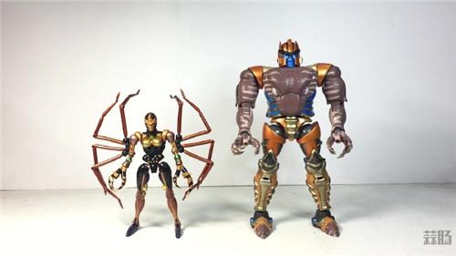 变形金刚大师系列MP-46蜘蛛勇士实物图公开 变形金刚 第5张