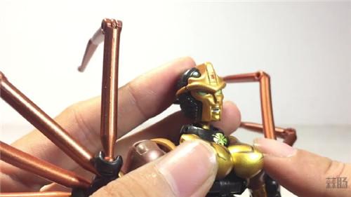 变形金刚大师系列MP-46蜘蛛勇士实物图公开 变形金刚 第7张