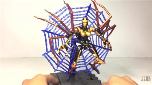 变形金刚大师系列MP-46蜘蛛勇士实物图公开 变形金刚 第9张