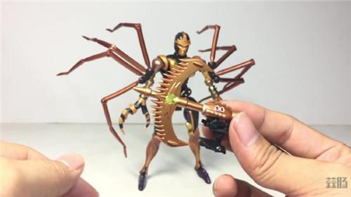 变形金刚大师系列MP-46蜘蛛勇士实物图公开 变形金刚 第8张