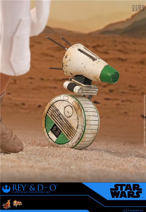 Hot Toys《星球大战:天行者崛起》蕾伊 & D-O 1:6比例珍藏人偶套装 模玩 第2张