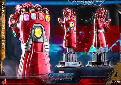 Hot Toys 推出全新《复仇者联盟4: 终局之战》 1:4比例纳米手套