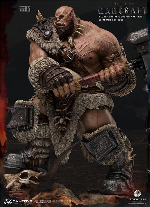 DAMTOYS发布魔兽世界电影版 1/9 奥格瑞姆全身雕像 模玩 第3张