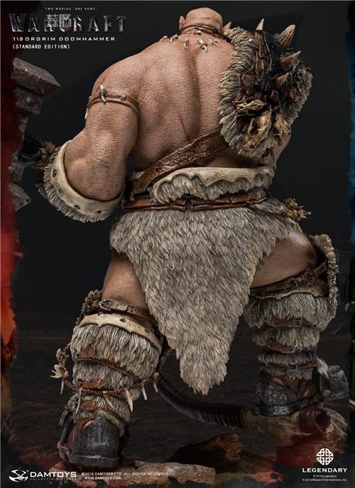 DAMTOYS发布魔兽世界电影版 1/9 奥格瑞姆全身雕像 模玩 第4张