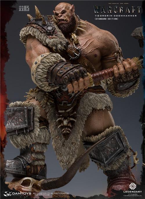 DAMTOYS发布魔兽世界电影版 1/9 奥格瑞姆全身雕像 模玩 第5张