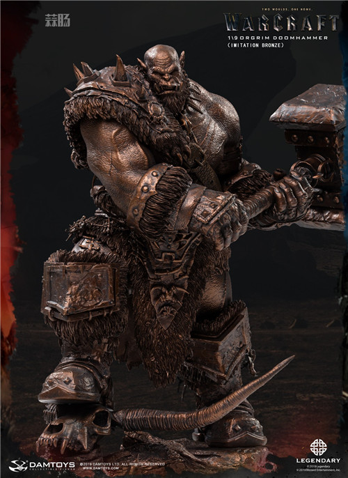 DAMTOYS发布魔兽世界电影版 1/9 奥格瑞姆全身雕像 模玩 第8张