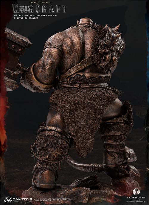 DAMTOYS发布魔兽世界电影版 1/9 奥格瑞姆全身雕像 模玩 第10张