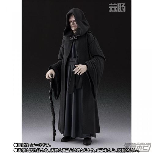 万代公布SHF星战 皇帝皇座套装 模玩 第2张