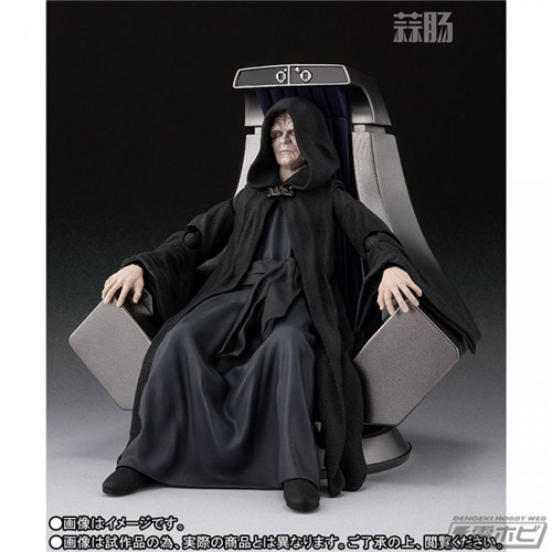 万代公布SHF星战 皇帝皇座套装 模玩 第1张