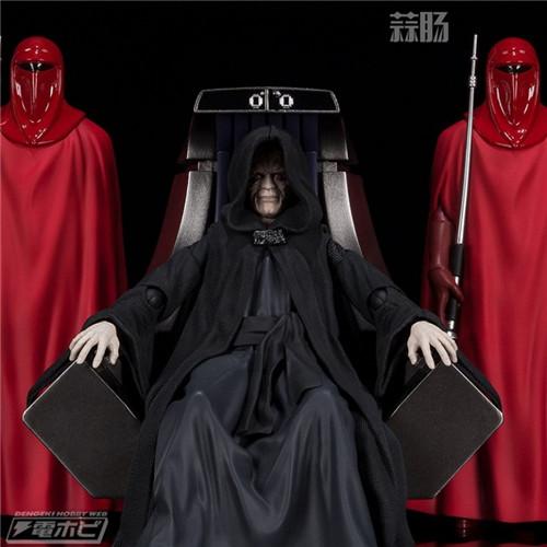 万代公布SHF星战 皇帝皇座套装 模玩 第6张