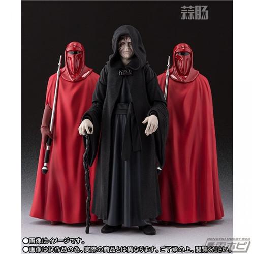 万代公布SHF星战 皇帝皇座套装 模玩 第5张