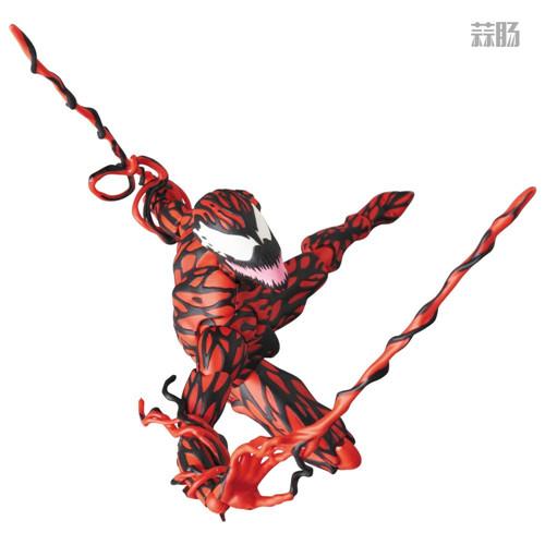 MEDICOM公布漫威超级反派漫画版屠杀 模玩 第1张