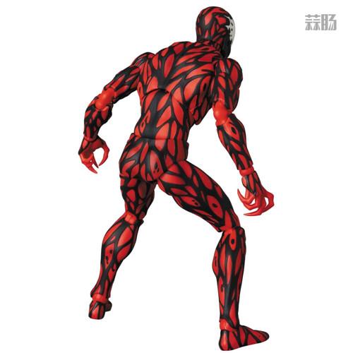 MEDICOM公布漫威超级反派漫画版屠杀 屠杀 漫威 MEDICOM 模玩  第3张