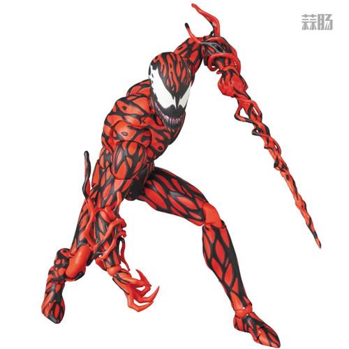 MEDICOM公布漫威超级反派漫画版屠杀 模玩 第5张