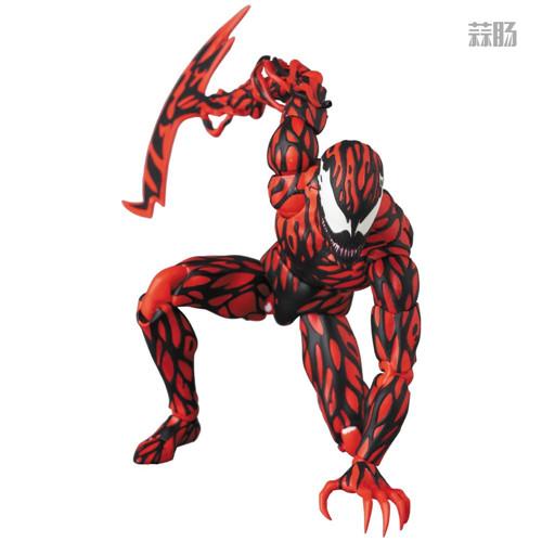 MEDICOM公布漫威超级反派漫画版屠杀 屠杀 漫威 MEDICOM 模玩  第4张