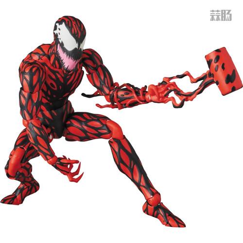 MEDICOM公布漫威超级反派漫画版屠杀 模玩 第6张