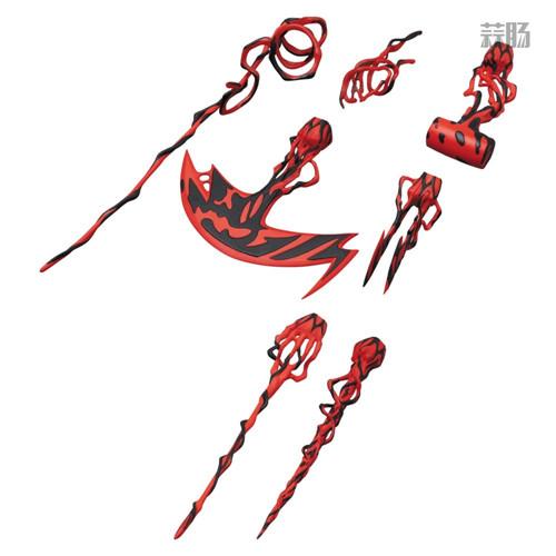 MEDICOM公布漫威超级反派漫画版屠杀 屠杀 漫威 MEDICOM 模玩  第9张