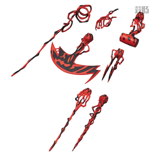 MEDICOM公布漫威超级反派漫画版屠杀 模玩 第9张