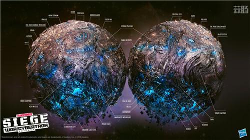 孩之宝公开变形金刚围城赛博坦星球地图 变形金刚 第2张
