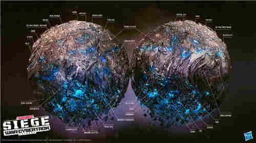孩之宝公开变形金刚围城赛博坦星球地图