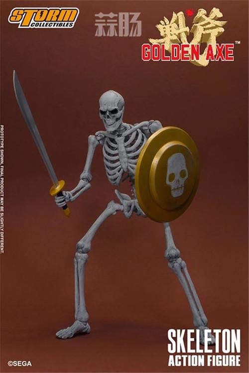 ST推出《战斧》骷髅战士 1/12 人偶 模玩 第3张