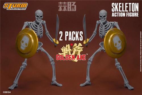 ST推出《战斧》骷髅战士 1/12 人偶 模玩 第2张