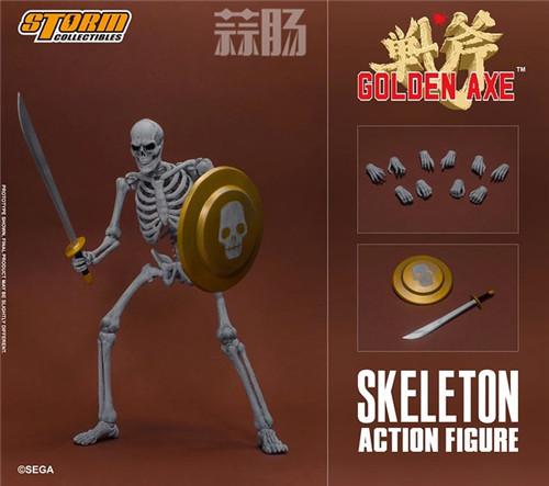 ST推出《战斧》骷髅战士 1/12 人偶 模玩 第1张