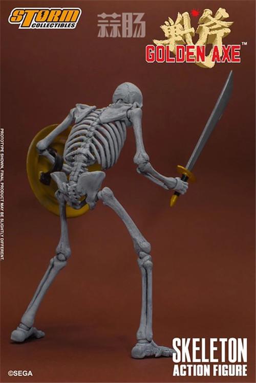 ST推出《战斧》骷髅战士 1/12 人偶 模玩 第4张