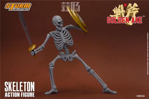 ST推出《战斧》骷髅战士 1/12 人偶 模玩 第7张