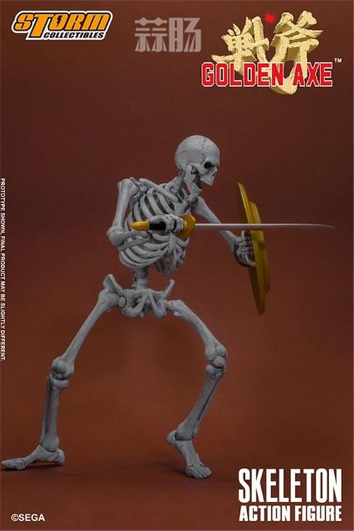 ST推出《战斧》骷髅战士 1/12 人偶 模玩 第8张