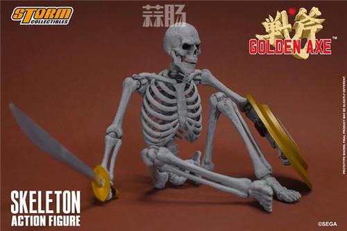 ST推出《战斧》骷髅战士 1/12 人偶 模玩 第9张