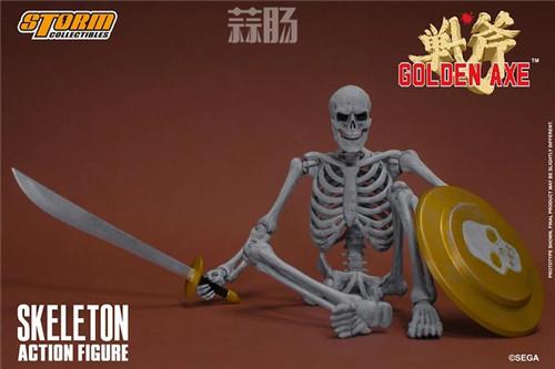 ST推出《战斧》骷髅战士 1/12 人偶 模玩 第10张