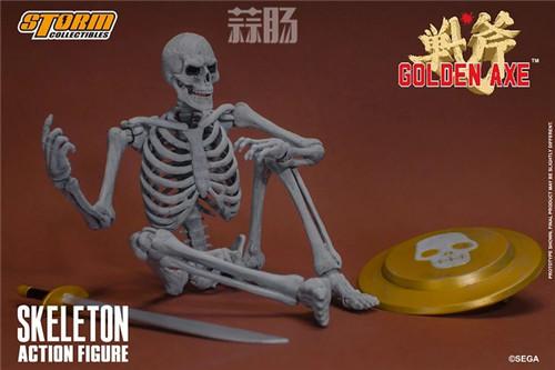 ST推出《战斧》骷髅战士 1/12 人偶 模玩 第11张