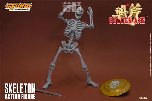 ST推出《战斧》骷髅战士 1/12 人偶 模玩 第12张