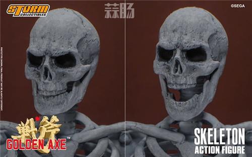 ST推出《战斧》骷髅战士 1/12 人偶 模玩 第16张