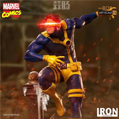 Iron Studios 公布漫画版《X战警》 1/10 镭射眼 模玩 第1张