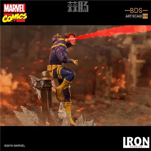 Iron Studios 公布漫画版《X战警》 1/10 镭射眼 模玩 第4张