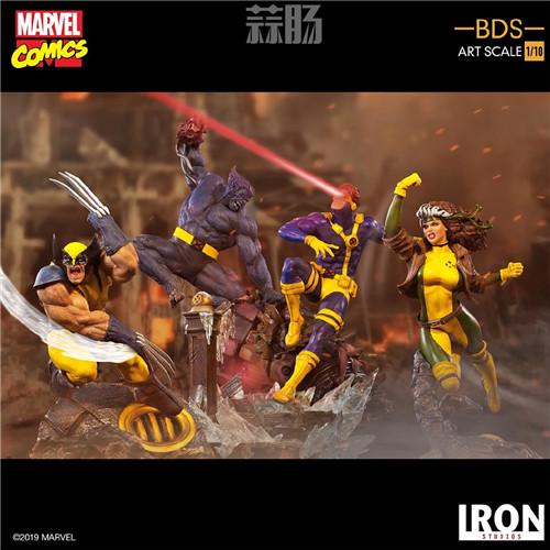 Iron Studios 公布漫画版《X战警》 1/10 镭射眼 模玩 第7张