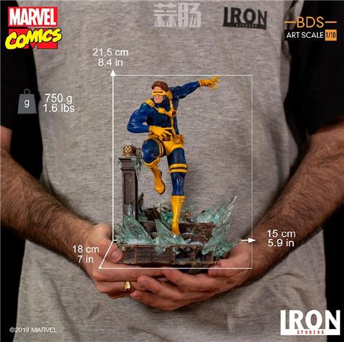 Iron Studios 公布漫画版《X战警》 1/10 镭射眼 模玩 第9张