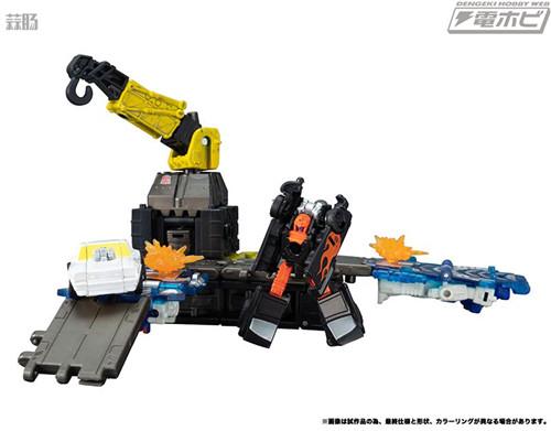 Takara Tomy变形金刚地球崛起ER-03千斤顶等玩具实图公开 变形金刚 第7张