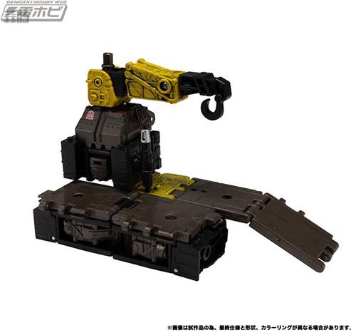 Takara Tomy变形金刚地球崛起ER-03千斤顶等玩具实图公开 变形金刚 第10张