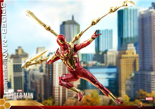 Hot Toys推出PS4《漫威蜘蛛侠》钢铁蜘蛛装甲战衣1:6人偶 模玩 第4张