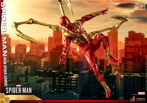 Hot Toys推出PS4《漫威蜘蛛侠》钢铁蜘蛛装甲战衣1:6人偶 模玩 第3张