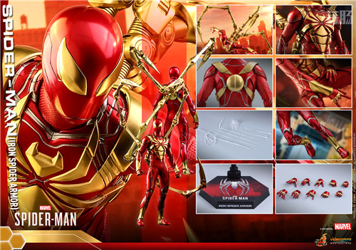 Hot Toys推出PS4《漫威蜘蛛侠》钢铁蜘蛛装甲战衣1:6人偶 模玩 第6张
