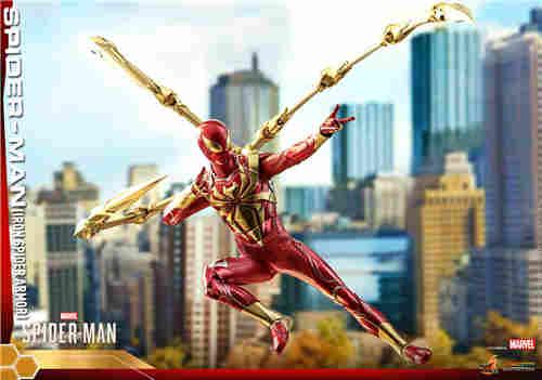 Hot Toys推出PS4《漫威蜘蛛侠》钢铁蜘蛛装甲战衣1:6人偶