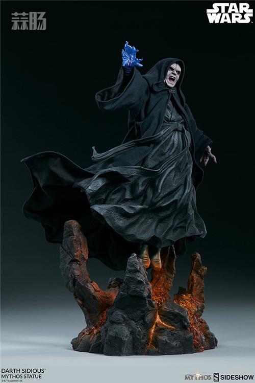 Sideshow 公布星战达斯·西迪厄斯雕像 模玩 第8张