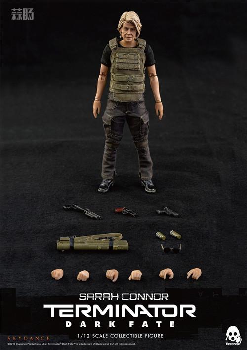 THREEZERO公布《 终结者:黑暗命运》1/12的T800和莎拉康纳 模玩 第2张