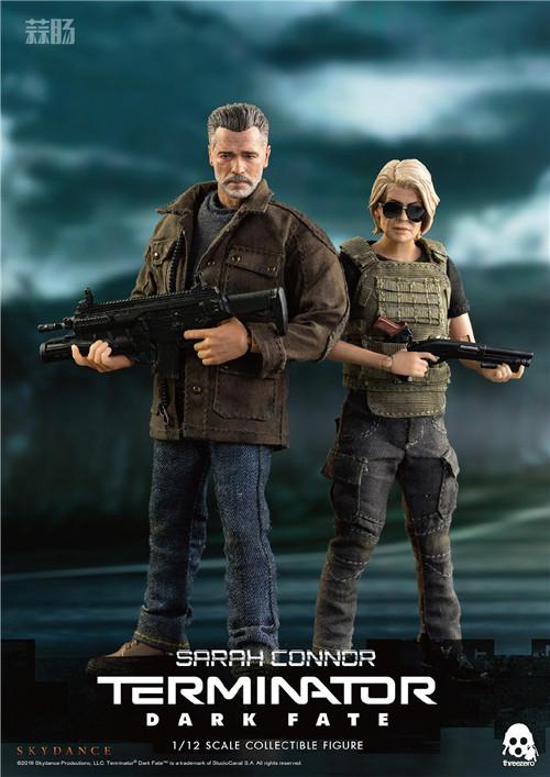 THREEZERO公布《 终结者:黑暗命运》1/12的T800和莎拉康纳 模玩 第7张