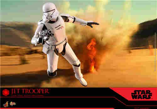 Hot Toys《星球大战:天行者崛起》西斯飞行兵及飞行兵
