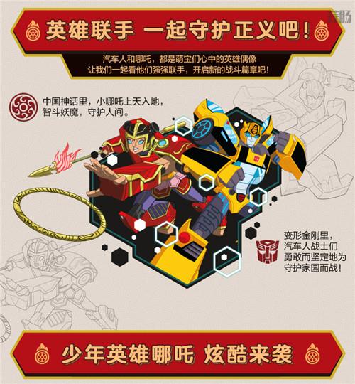 孩之宝公开《哪吒与变形金刚》哪吒小英雄玩具实物图 变形金刚 第3张